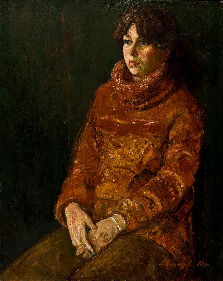 Портрет дівчини - Хоренко В.Ф.