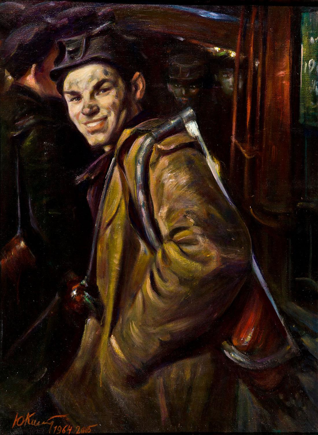 Портрет Олексія Швєдова - Комендант Ю.С.