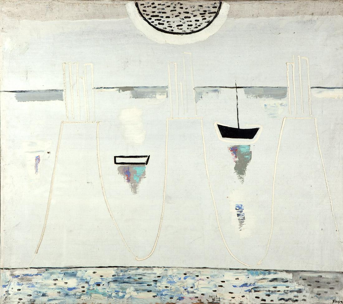 White landscape - Bauer W.