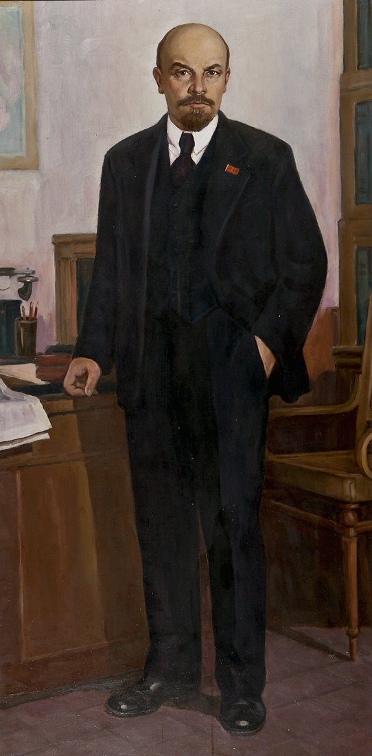 Портрет В.І. Леніна - Ростовой, копіював Хохолєв С.А.