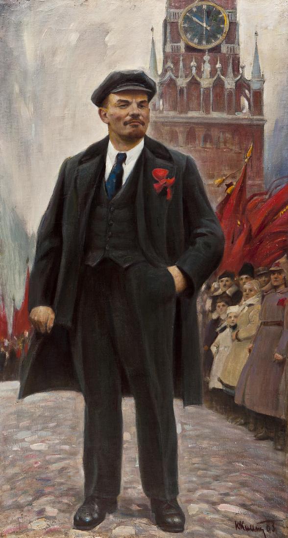 Ленин на Красной площади - Комендант Ю.С.
