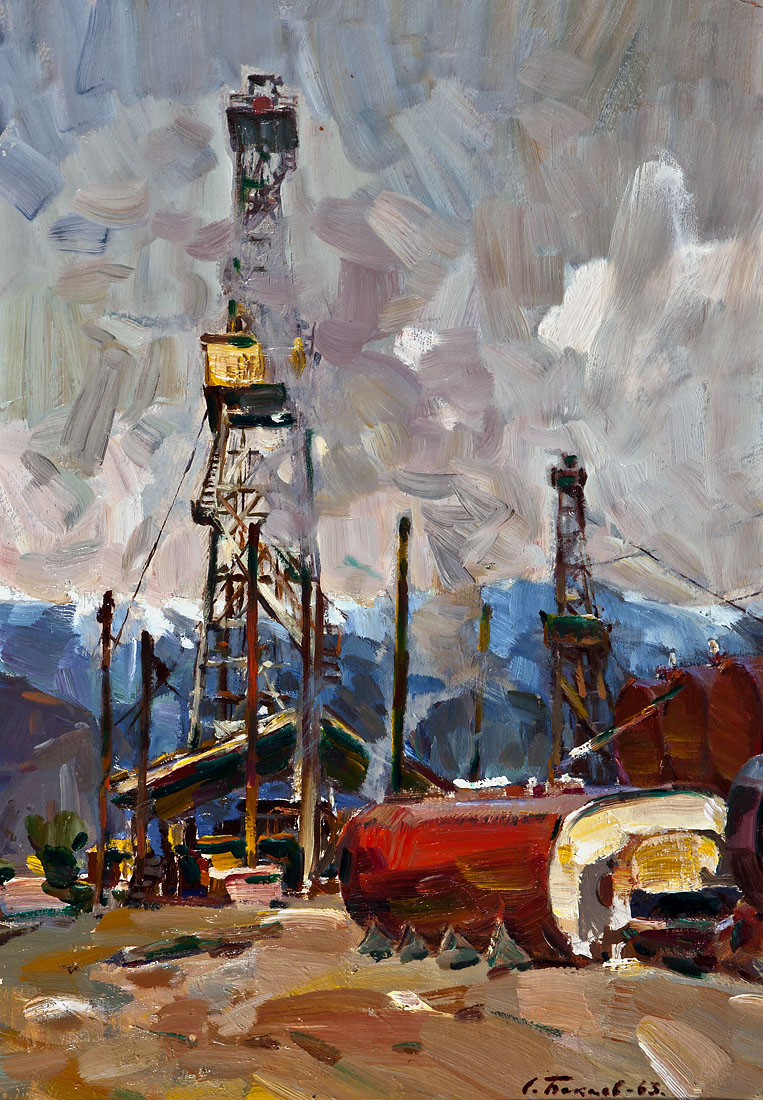 Searching for crude oil in Yalta - Bakaev S.