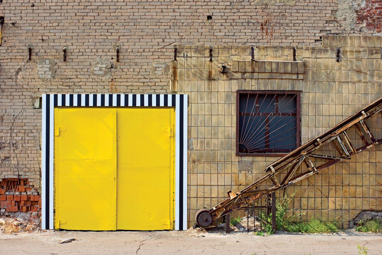 21 дверь = 21 цвет (21 Doors = 21 Colours) - Buren, Daniel