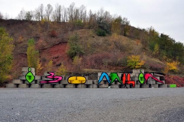 """Граффити """"Изоляция"""" - APL315"""
