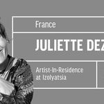 Artist Juliette Déjoué in residence at IZOLYATSIA