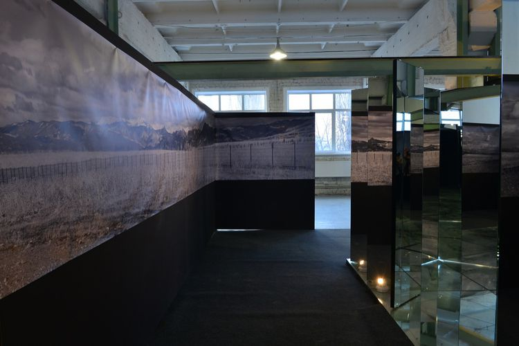 - General view of the exhibition