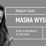 Artist and photographer Masha Wysocka in residence at IZOLYATSIA
