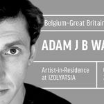 Artist <strong>Adam J B Walker</strong> in residence at IZOLYATSIA