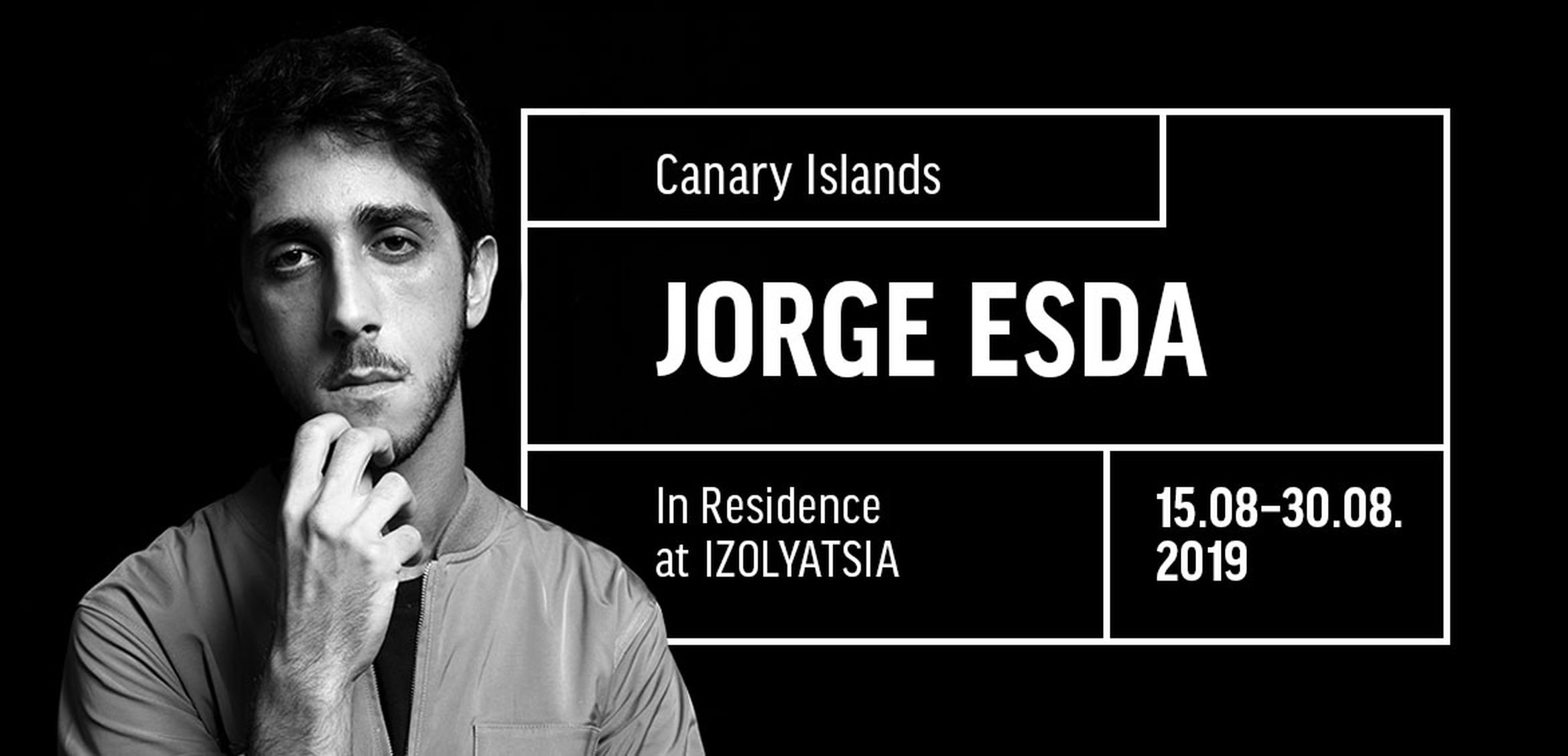 Cultural Manager and Researcher Jorge Esda in residence at IZOLYATSIA