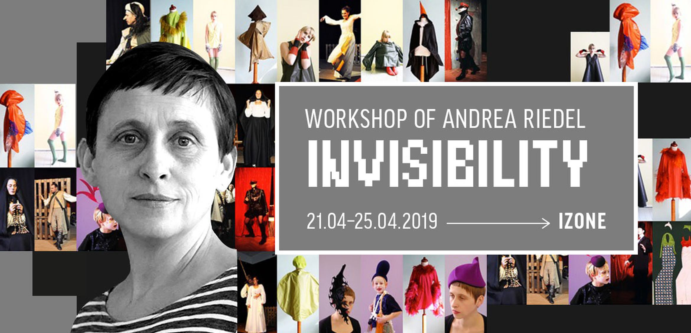 Invisibility — a Five-Day Workshop by Andrea Riedel
