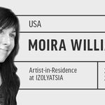 Artist <srong>Moira Williams</strong> in residence at IZOLYATSIA