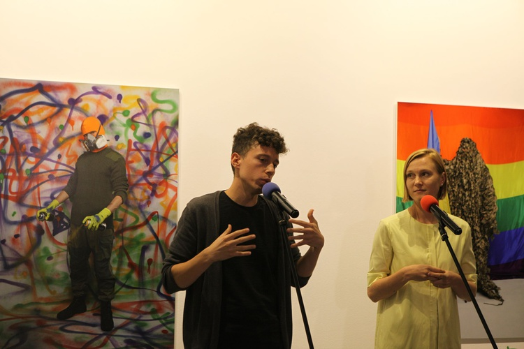 - Opening of Exhibition 'We were Here' by Anton Shebetko