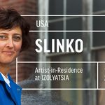 Artist <strong>Slinko</strong> in residence at IZOLYATSIA