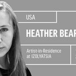 Artist <strong>Heather Beardsley</strong> in residence at IZOLYATSIA