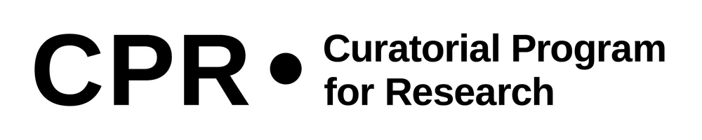 Curatorial Program for Research