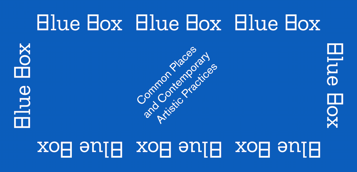 BLUE BOX. Common Places and Contemporary Artistic Practices