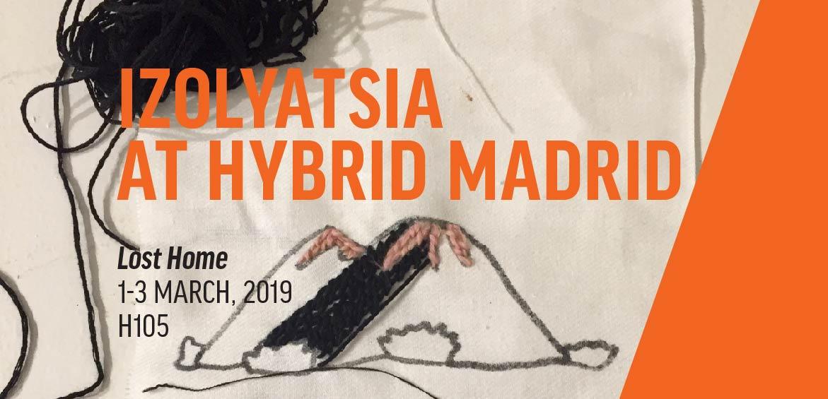ІЗОЛЯЦІЯ на Hybrid Madrid Art Fair 2019