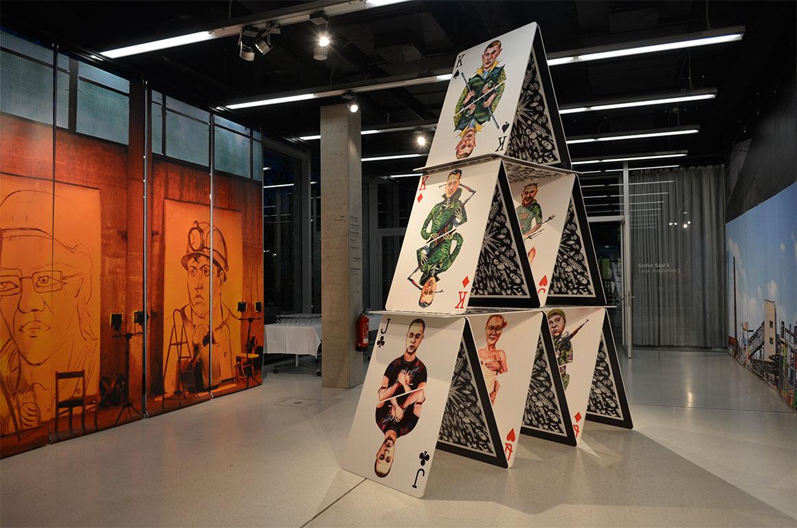 Выставка Культура и конфликт открылась в Берлине
